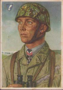 W.Willrich 'Major Koch' Postcard