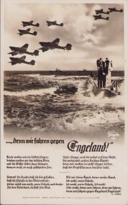'denn wir fahren gegen Engeland' Liederkarte