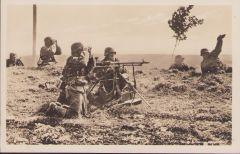 Unsere Wehrmacht 'SS MG unit' postcard