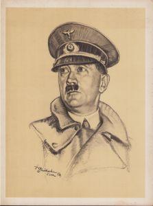 Large Portrait of Adolf Hitler 1939