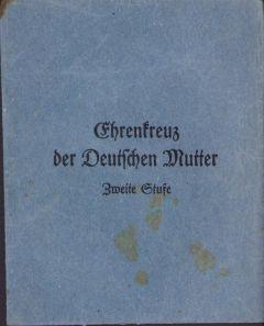 Pouch for Mutter Kreuz in Silver