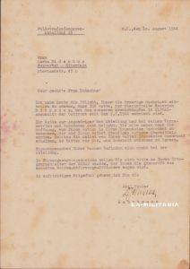 Rare Feldstrafgefangenen Abt.15 'MIA' Doc 1944