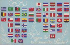 Olympische Spiele 1936 postcard