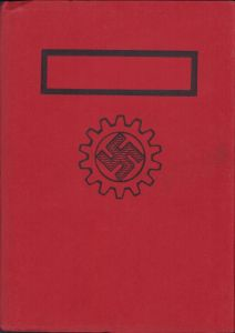 DAF Mitgliedbuch with Rare Cover