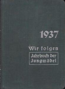 Rare Jahrbuch der Jungmädel 1937