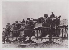 'Tiger 1' Press Photograph 1943