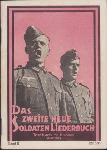 'Das zweite neue Soldaten Liederbuch' Booklet
