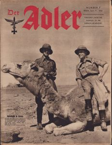 English 'Der Adler 7 April 1942' Magazine