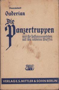 Rare 'Die Panzertruppen' Booklet 1944
