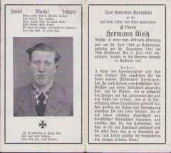 SS-Mann Death Notice 1941 (Russia)