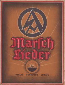 Rare Large 'SA Marschlieder' Booklet 1931