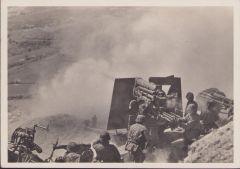 Waffen-ss ''Fla beim Erdbeschuss'' Postcard