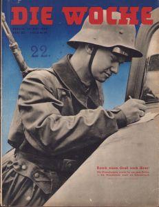 'Die Woche 29 Mai 1940' Magazine