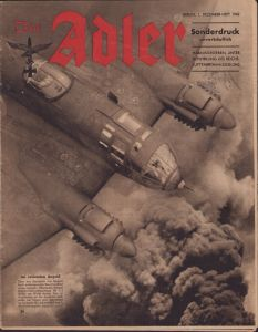 'Der Adler 1.December 1942' Magazine