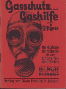 Gasschutz Gashilfe Instruction Booklet 1934