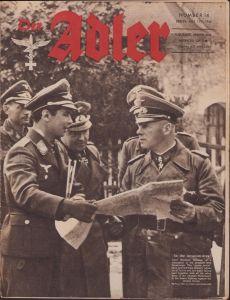 English 'Der Adler 11 July 1944' Magazine