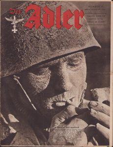 English 'Der Adler August 8th 1944' Magazine