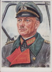 W.Willrich 'Generaloberst Guderian' Postcard