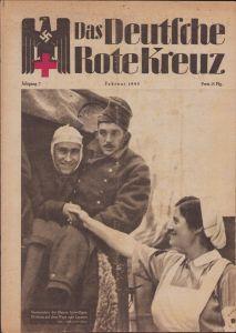 'Das Deutsche Rote Kreuz' Magazine (Februari 1943)