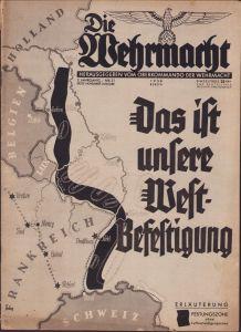 'Die Wehrmacht Nov.1938' Magazine