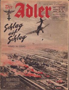 Italian/German 'Der Adler 17 Sept. 1940'