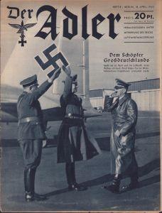 'Der Adler 16 April 1940' Magazine