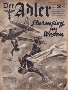 'Der Adler 28.Mai 1940' Magazine