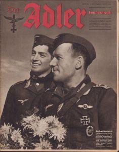 'Der Adler 2.Dez. 1941' Magazine