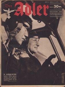 'Der Adler 10.April 1941' Magazine