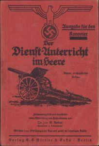 Wehrmacht Kanonier Reibert 1937 (Art.Rgt.22)