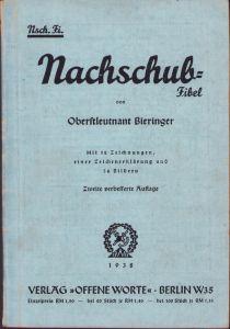 Wehrmacht Nachschubfibel 1938