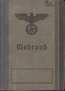 Inf.Rgt.556 Wehrpass (KIA)