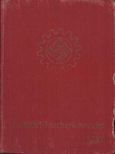 DAF Luftfahrt Taschenkalender 1937