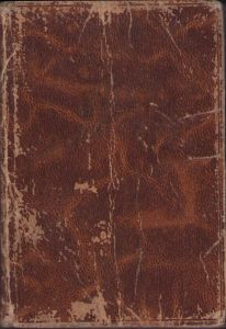 Wehrmacht Issued Pocket Kalender 1943/1944 (Named)