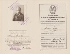 DRL Award Booklet 1936