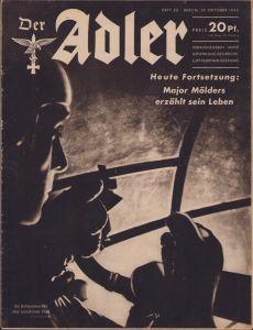 'Der Adler 29.Okt. 1940' Magazine
