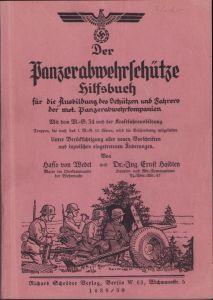 Rare 'Panzerabwehrschütze Hilfsbuch' 1938/39