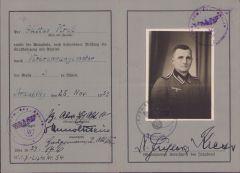 Wehrmacht-Führerschein (3./Pz.Abw.ERs.Abt.10)