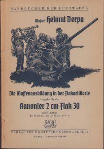 Luftwaffe 'Kanonier 2cm Flak 30' Booklet 1942