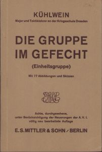 'Die Gruppe im Gefecht' Tactical Instruction Booklet