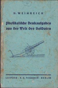 Physik Booklet für Soldaten 1939