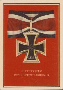 Ritterkreuz des Eisernes Kreuz Postcard