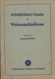 Funkschau-Tabelle der wehrmachtröhren 1944