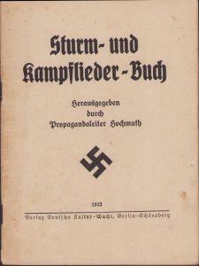 Kampf und Sturmlieder 1933