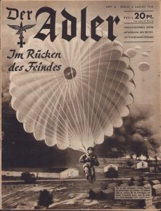 'Der Adler 6.August 1940' Magazine (Waalhaven)