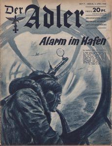 'Der Adler 2.April 1940' Magazine