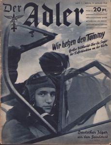 'Der Adler 9.Jan. 1940' Magazine