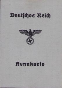 Deutsches Kennkarte 1940