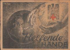 Rare DRK Book 'Helfende Hände' 1943