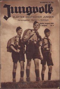 'Jungvolk' Blätter Deutscher Jungen 1933